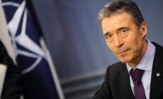 Putina 'humānais konvojs' var būt aizsegs militārai operācijai, pieļauj Rasmusens