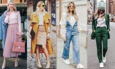 Aprīļa modes salikumi: 30 apģērbu komplekti katrai dienai