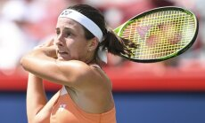 Lietus izjauc Sevastovas un Ostapenko spēles Sinsinati WTA turnīra dubultspēlēs