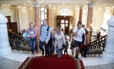 ФОТО: Жители и гости Риги массово отправились на Ночь музеев