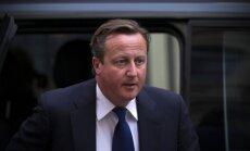Kamerons aicina nepiekopt pret Krieviju nomierināšanas politiku