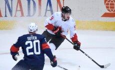 Kanādas hokejisti sakauj ASV un sasniedz Pasaules kausa pusfinālu