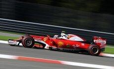 Raikonens ātrākais noslēdzošajā treniņā pirms Beļģijas 'Grand Prix' kvalifikācijas