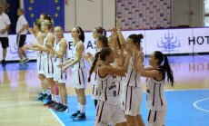 Latvijas U-20 basketbolistes izcīna piekto vietu Eiropas čempionātā