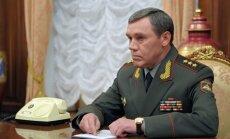 Krievijā iecelts jauns Ģenerālštāba vadītājs