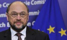 EP priekšsēdētājs Šulcs: Latvijai prezidentūras laikā būs jāpieliek pūles, lai uzlabotu ģeopolitisko situāciju