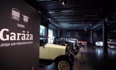 'Zebra': Motormuzejā atklāta izstāde ar jaunākajiem restaurētajiem auto