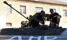 Kaujinieki pārtraukuši imitēt pamiera ievērošanu un atklāti apšauda Ukrainas spēkus