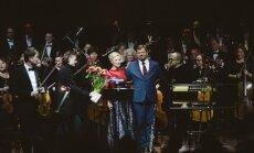 Foto: Cēsīs izskanējis Ērika Ešenvalda 'Vulkānu simfonijas' pasaules pirmatskaņojums