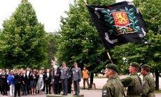Leons Stiprais: Apsveicam Somiju un Latviju ar kārtējo Rezerves virsnieku izlaidumu