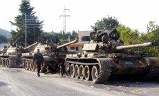Ministrs: Sīrija izmantos 'visus pieejamos līdzekļus' pret ASV uzbrukumu