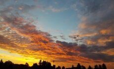 Lasītāja iemūžina saullēktu Jēkabpilī