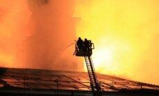 Pēdējo 13 gadu plašākie un sarežģītākie ugunsgrēki Latvijā