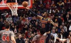 Džeimss NBA rezultatīvāko spēlētāju sarakstā apsteidz O'Nīlu