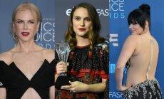 Foto: Elegance un stila misēkļi filmu kritiķu balvu ceremonijā