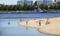 Ķīpsalas peldvietā būs jāizliek paziņojumus par paaugstinātu piesārņojumu