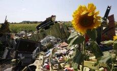 Avarējušās Malaizijas lidmašīnas pasažieru mantas nogādātas Harkovā