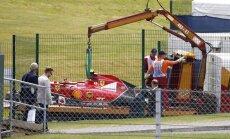Raikonena avārijā 'Ferrari' formula nav vainojama