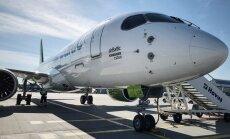 ФОТО: airBaltic получила новый Bombardier CS300