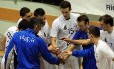 'Lāse-R/Rīga' volejbolisti atgūst Latvijas čempionu titulu