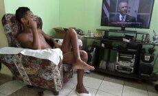 Foto: Pēc pusgadsimta pārtraukuma Kuba un ASV atver vēstniecības Vašingtonā un Havanā