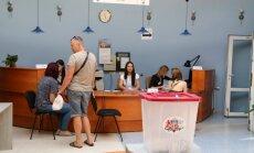 Vēlētāji vēlas balsot par vairākiem sarakstiem; urna vairs neizskatās pēc miskastes