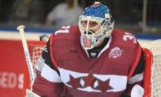 Masaļska atvadu spēlē Latvijas izlasei neizdodas atspēlēt piecu vārtu deficītu