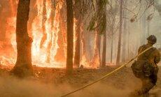 'Sātana vēji' draud pastiprināt Kalifornijas ugunsgrēkus
