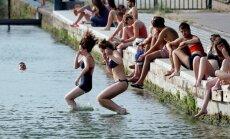 Francija piedzīvojusi karstāko jūnija dienu kopš Otrā pasaules kara
