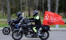 Lietuvas robežsargi neielaiž valstī no Baltkrievijas braucošu Krievijas motociklistu