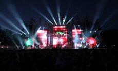 Kā izskatās '7 soļi svaiga gaisa' koncertturneja? Video ieskats 'Prāta vētras' koncertā Valmierā