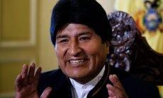 Bolīvijas prezidenta vēlēšanās uzvarējis Moraless