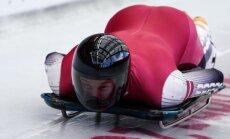 Brāļi Dukuri uzsāk cīņu par olimpisko spēļu medaļām skeletonā