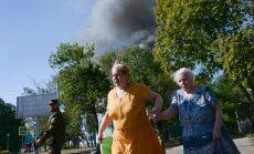 No krievu ieņemtās Novoazovskas aizvesti tajā nereģistrētie cilvēki