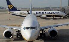 'Ryanair' stjuartu streiki nav ietekmējuši lidojumus uz un no Rīgas