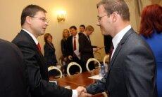 Домбровскис заявил о возможности поиска новой коалиции
