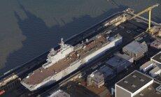 Krievijai paredzētos 'Mistral' kuģus varētu nopirkt Kanāda, ziņo laikraksts