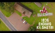 Video: Motobrauciens gar Igaunijas robežu līdz pat Rietumlatgales klusajiem nostūriem