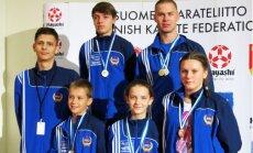 Latvijas karate kluba 'Ippon.lv' sportisti no Somijas atved septiņas medaļas