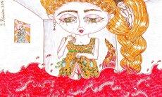 Ar performanci atklās sievietes ciklam veltīto Ingrīdas Pičukānes izstādi 'Sarkanā istaba'