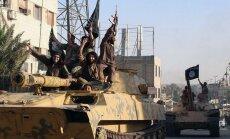 ASV atbalstītā nemiernieku koalīcija paziņo par uzbrukumu 'Islāma valsts' pozīcijām Sīrijā