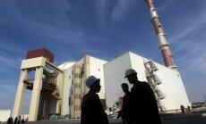 Krievija sāks būvēt divus kodolreaktorus Irānā