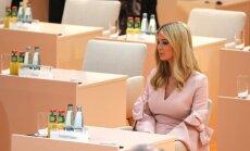 Ivanka Trampa vairākas reizes aizvietojusi tēvu pie G20 līderu galda