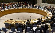 Krievija bloķē ANO rezolūciju par Sīriju