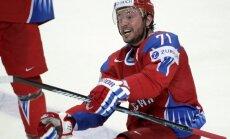 Kovaļčuks un Brizgalovs piekrituši Krievijas hokeja izlases rindās spēlēt PČ