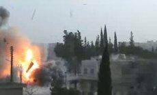 Opozīcija: Sīrijas armija jaunā slaktiņā nogalinājusi ap 100 cilvēku