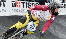 Latvija olimpiskajā BMX rangā pakāpjas uz sesto vietu