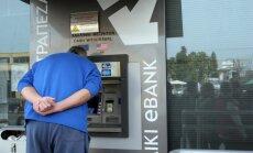 ECB pastiprina spiedienu: ārkārtas finansējums Kiprai būs pieejams tikai līdz pirmdienai