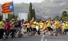 'Katalonijas ceļa' dalībnieki pieprasa neatkarību