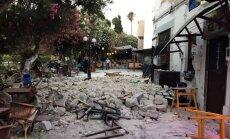 6,7 magnitūdu zemestrīcē Turcijā un Grieķijas salās gājuši bojā divi cilvēki, 480 ievainoti